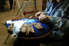 Bobbin Lace Making Demonstration